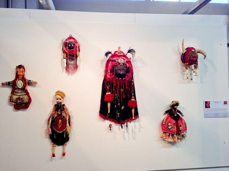 Exposition Fiber Art Fever au musée textile de la manufacture des Flandres