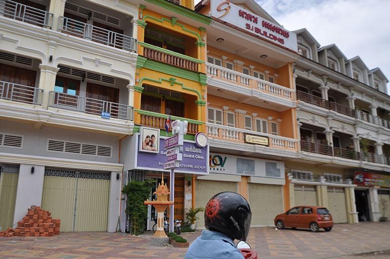 Rue à Battambang