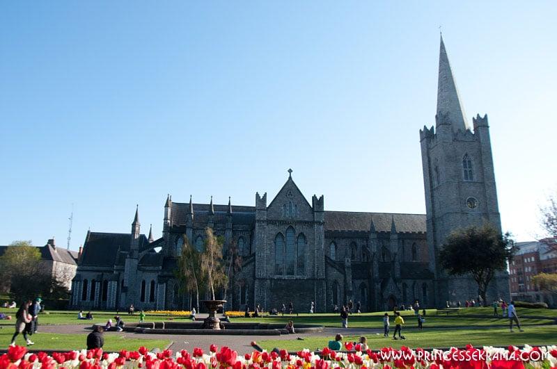 Visiter Dublin : Cathédrale Saint Patrick Dublin
