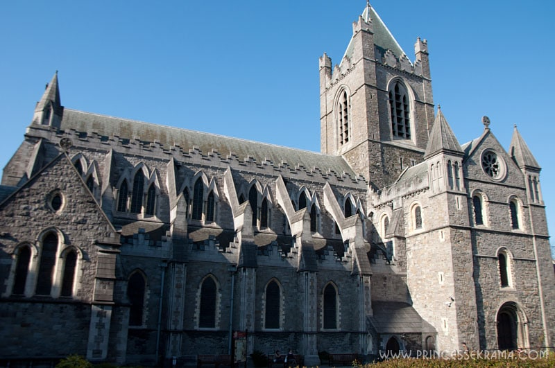 Visiter Dublin : Cathédrale Christ church