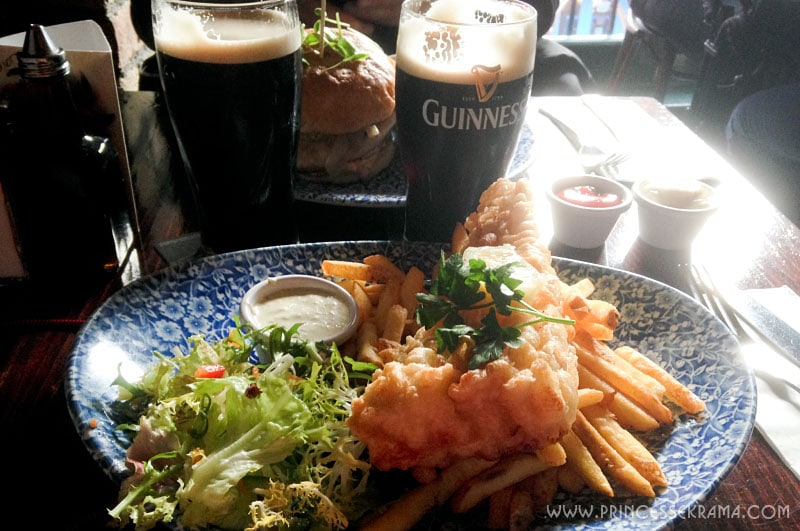 Visiter Dublin : Fish and chips