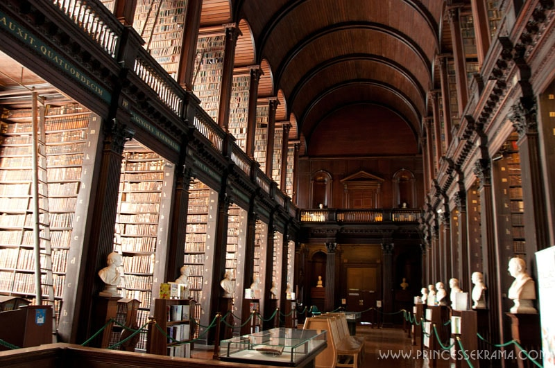 Visiter Dublin : Old library