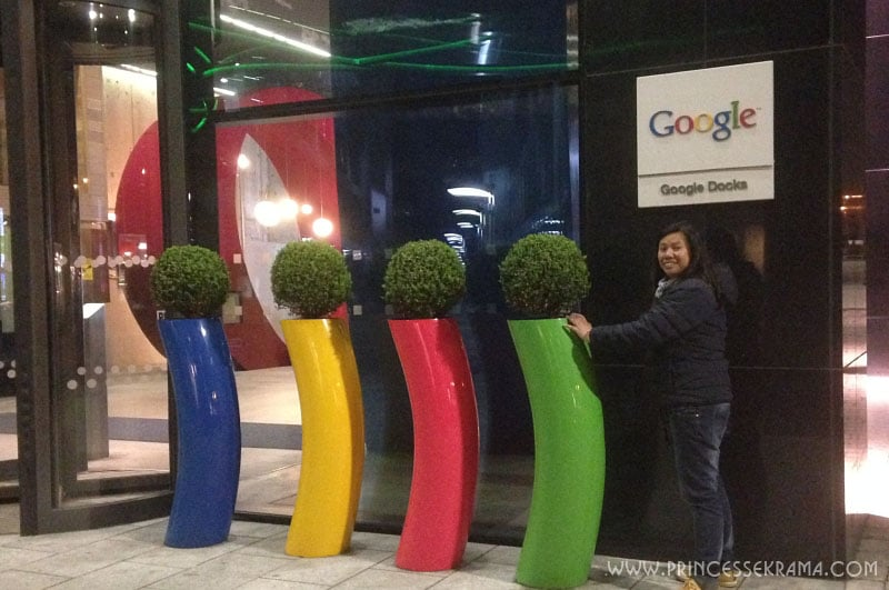 Visiter Dublin : Siège social Google Dublin
