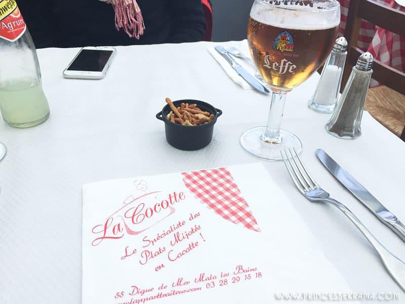 Table à la Cocotte de Dunkerque