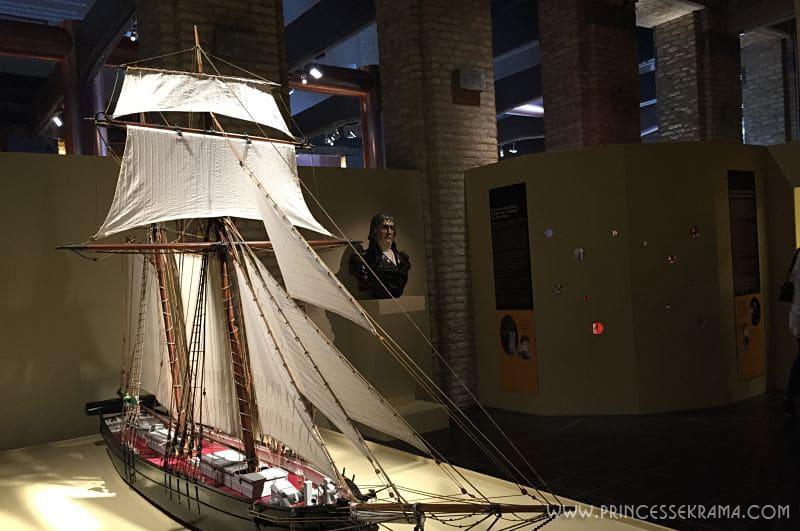 Maquette Dunkerque bateau