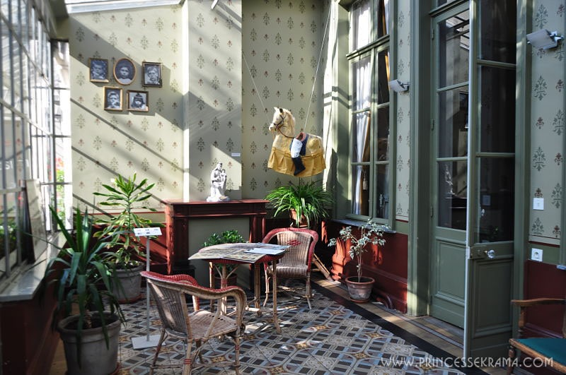 Véranda maison De Gaulle