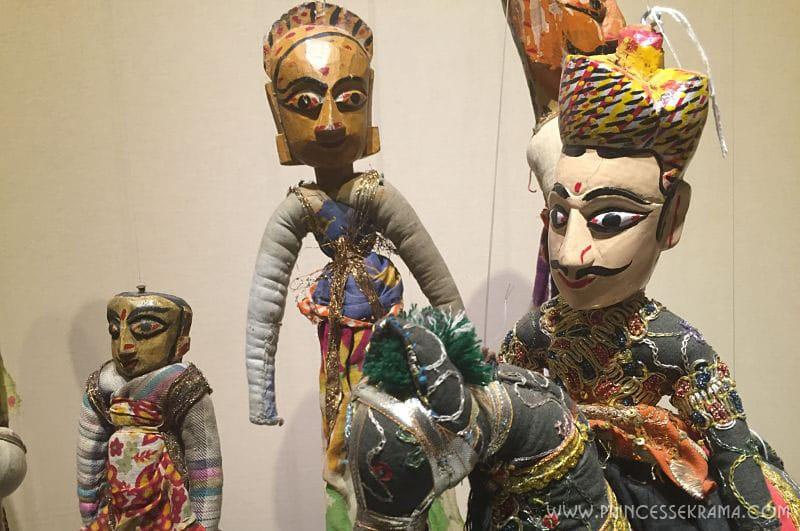Marionnettes - Inde