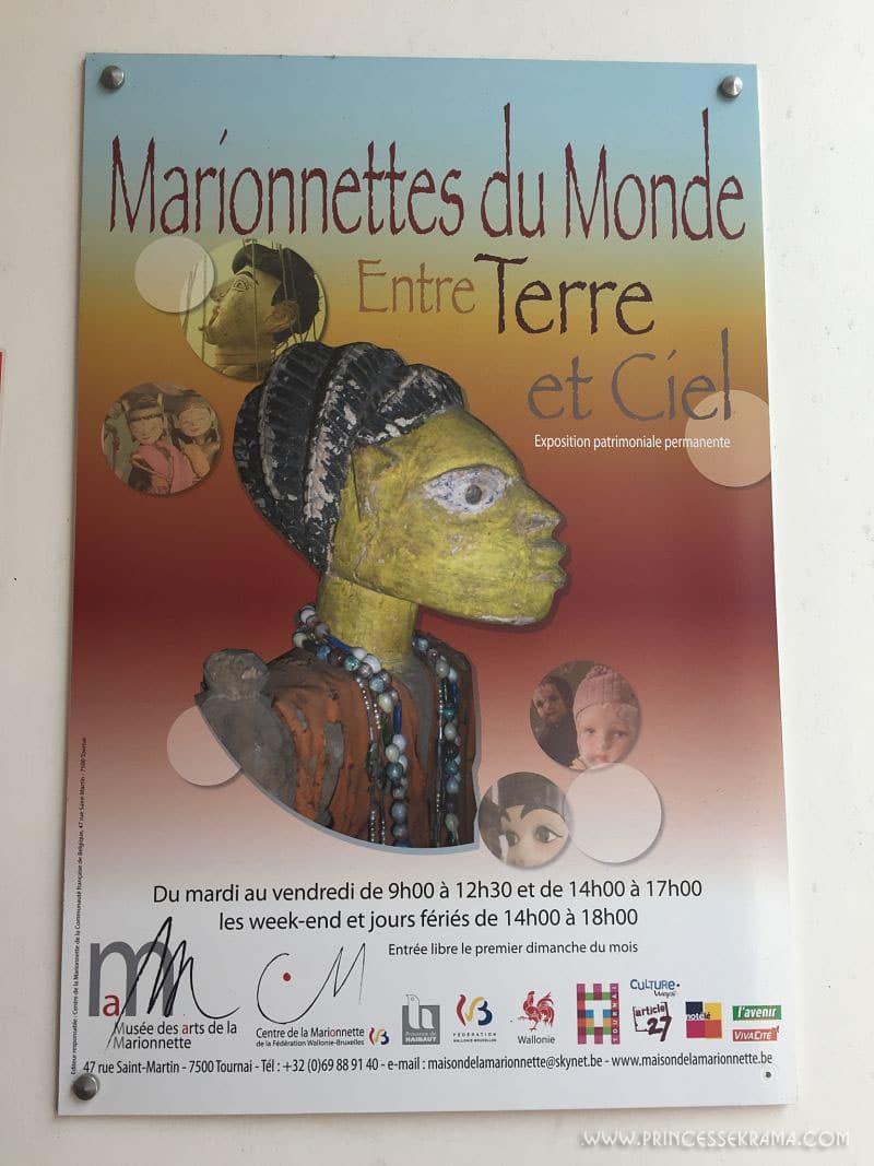 Musée de la marionnette à Tournai