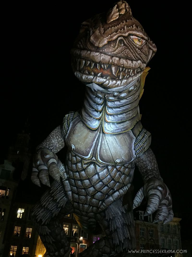 Godzilla - Parade Lille 3000 Renaissance