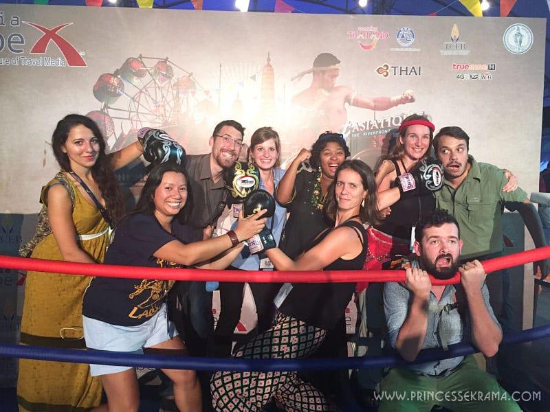 Blogueurs francophones Tbex Asia 2015