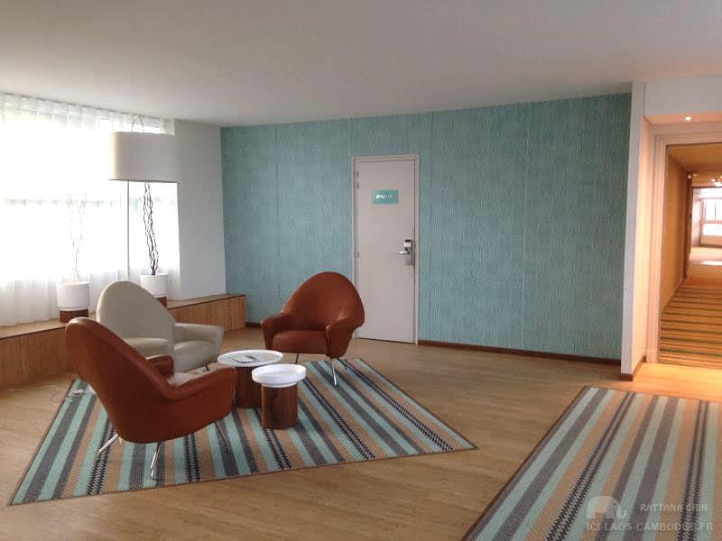 Salon intérieur Sofitel