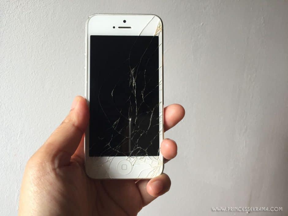 Ami smartphone écran brisé