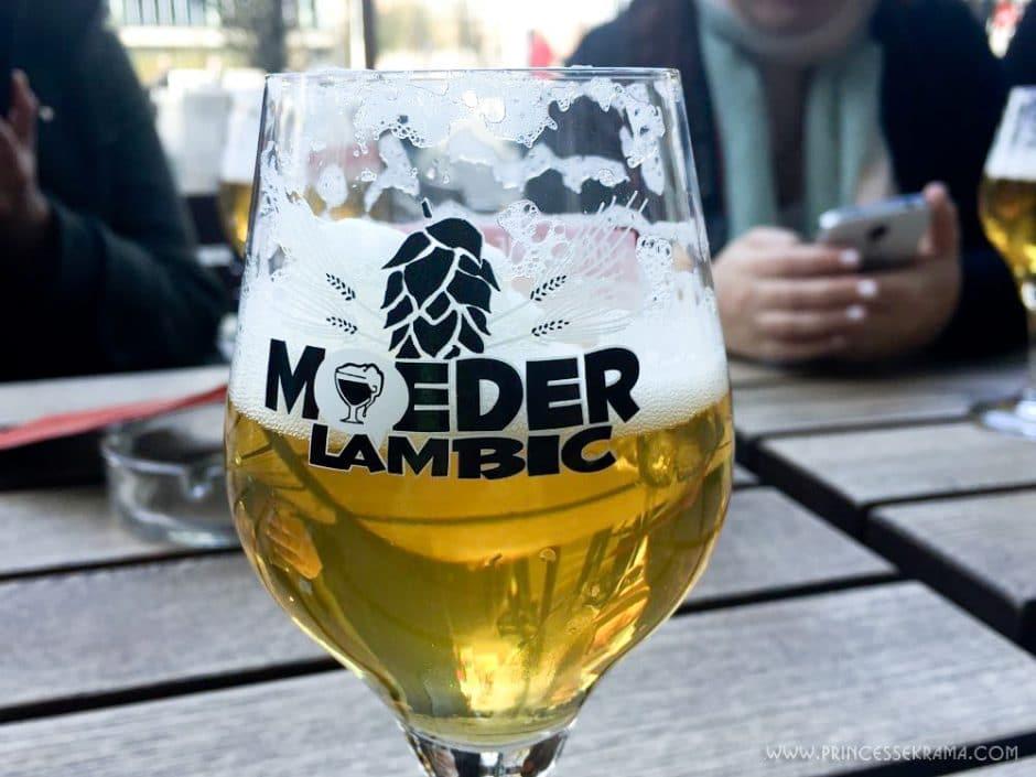 Visiter Bruxelles pour la Brasserie Moeder Lambic