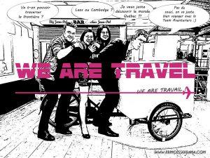 Jamais 2 sans 3 au salon des blogueurs de voyage We Are Travel