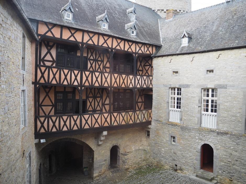 Colombages Château de Vêves