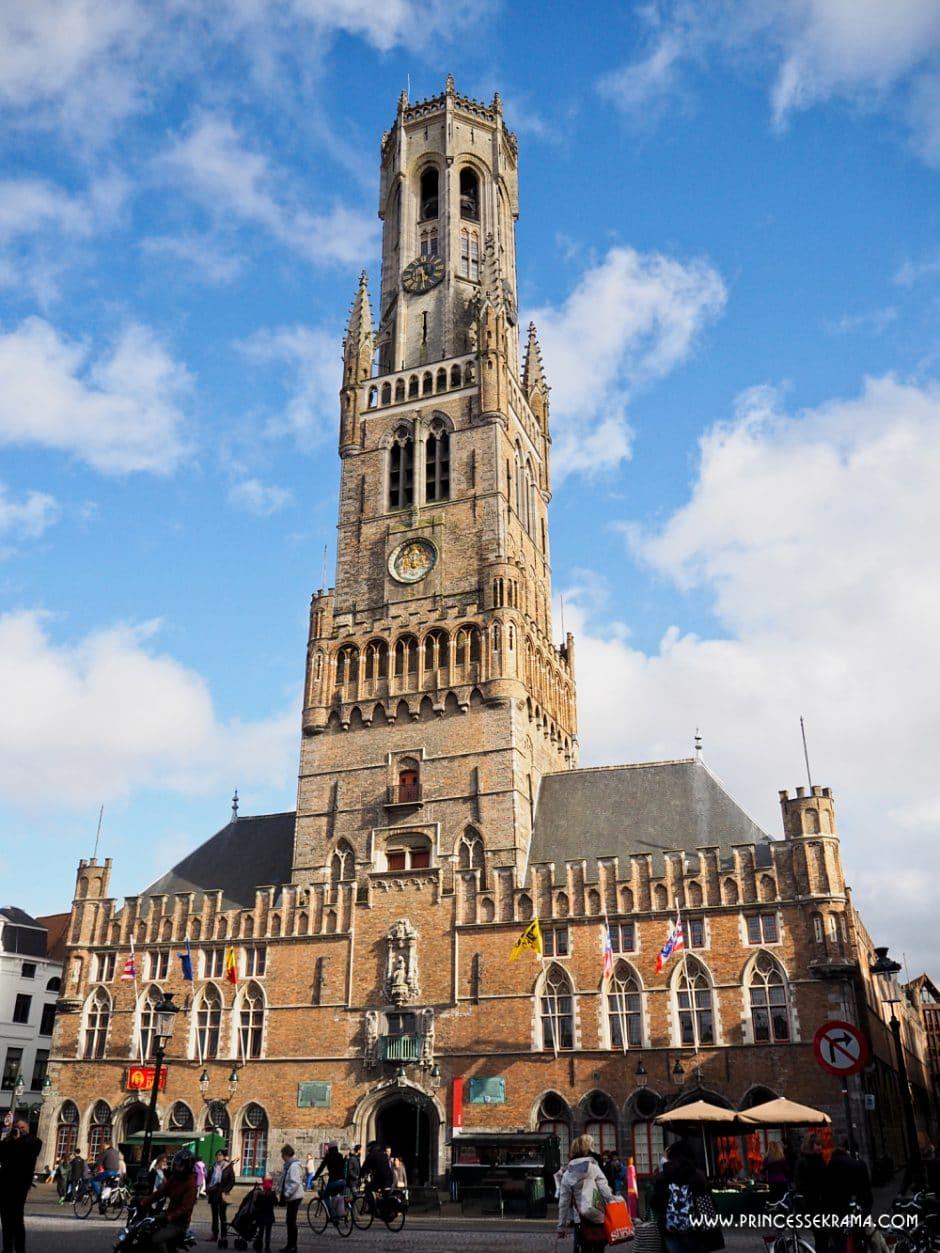 Visiter Bruges et son Beffroi