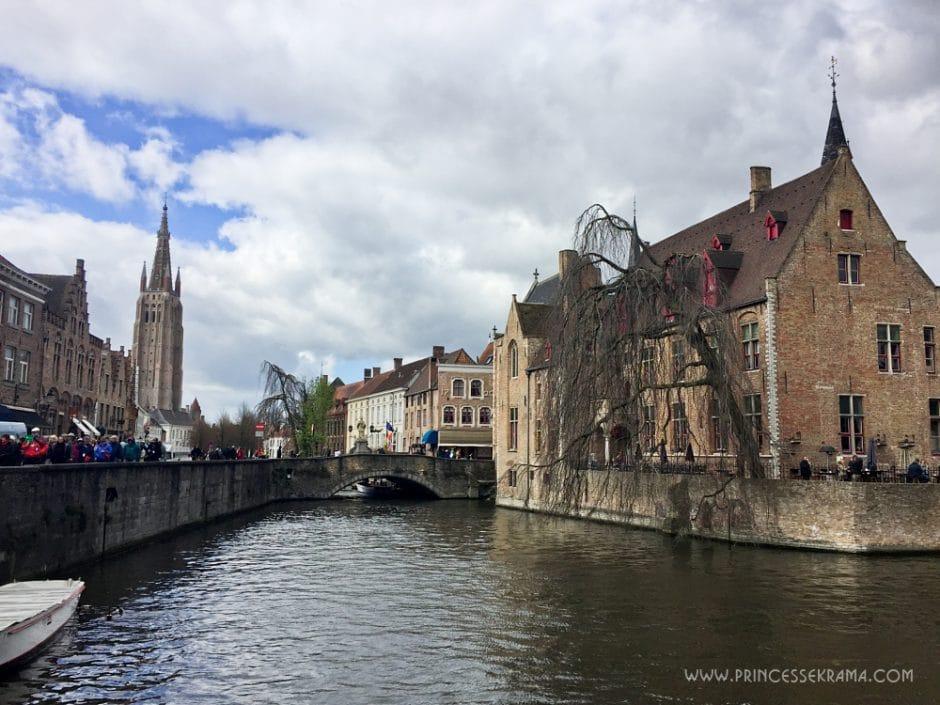 Visiter Bruges et ses canaux