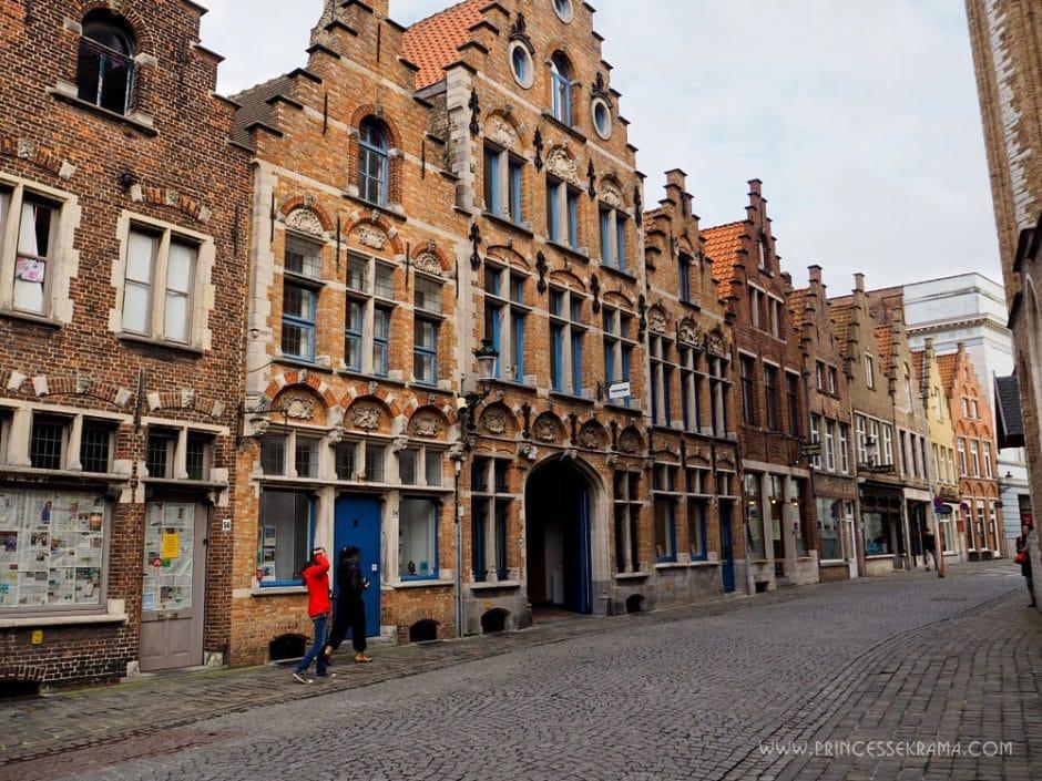 Visiter Bruges cité médievale