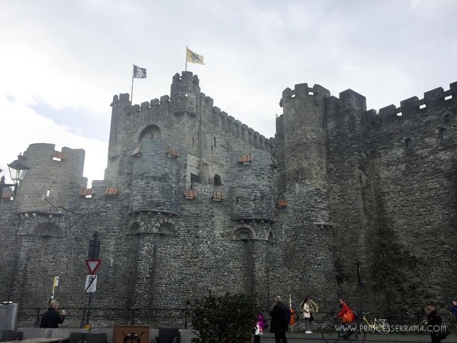 Château des Comtes de Flandres à Gand