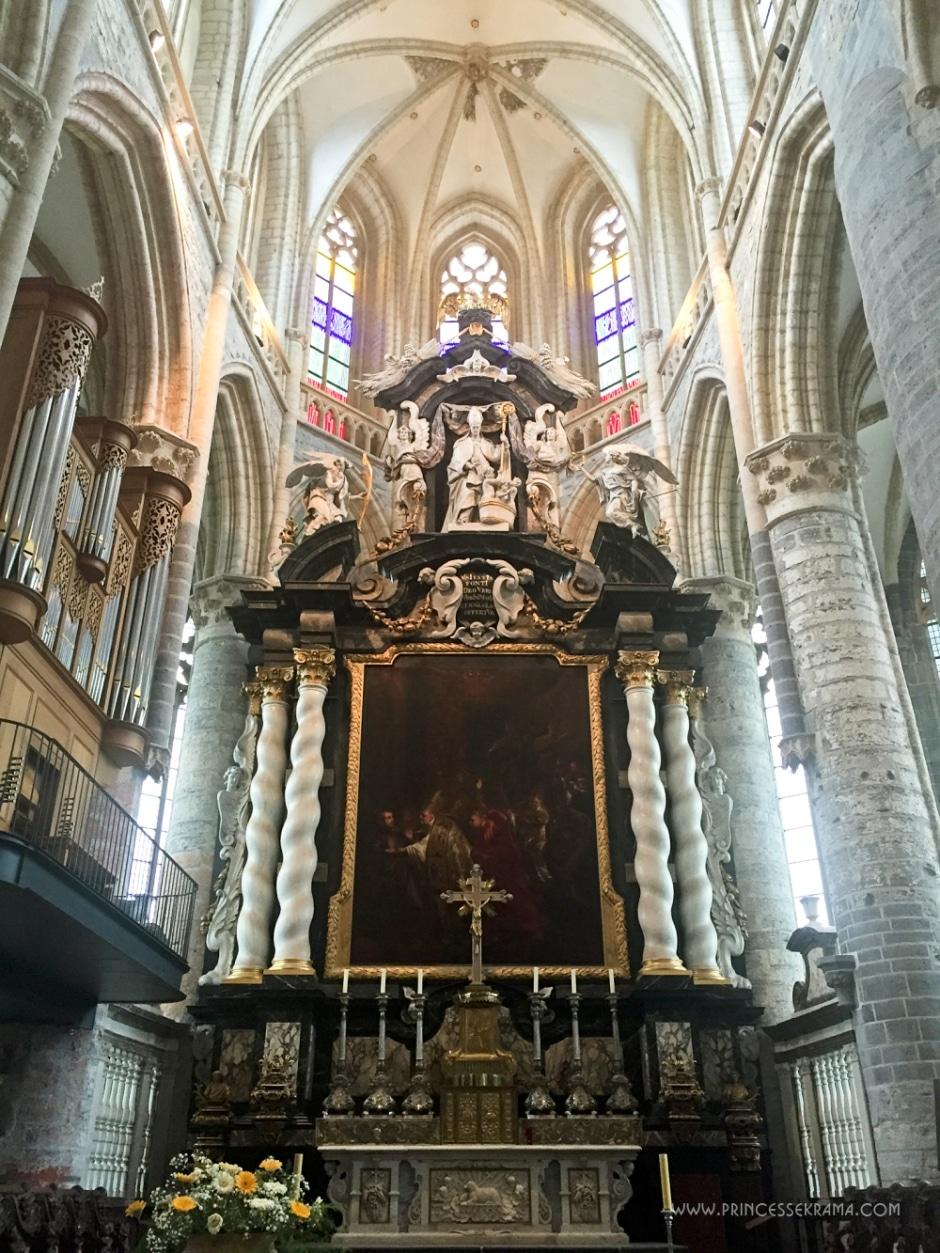 Eglise Saint-Nicolas à Gand