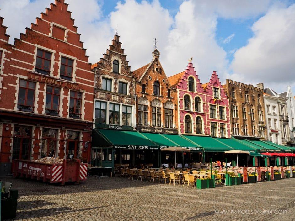 Visiter Bruges pour la Grand Place (Markt)