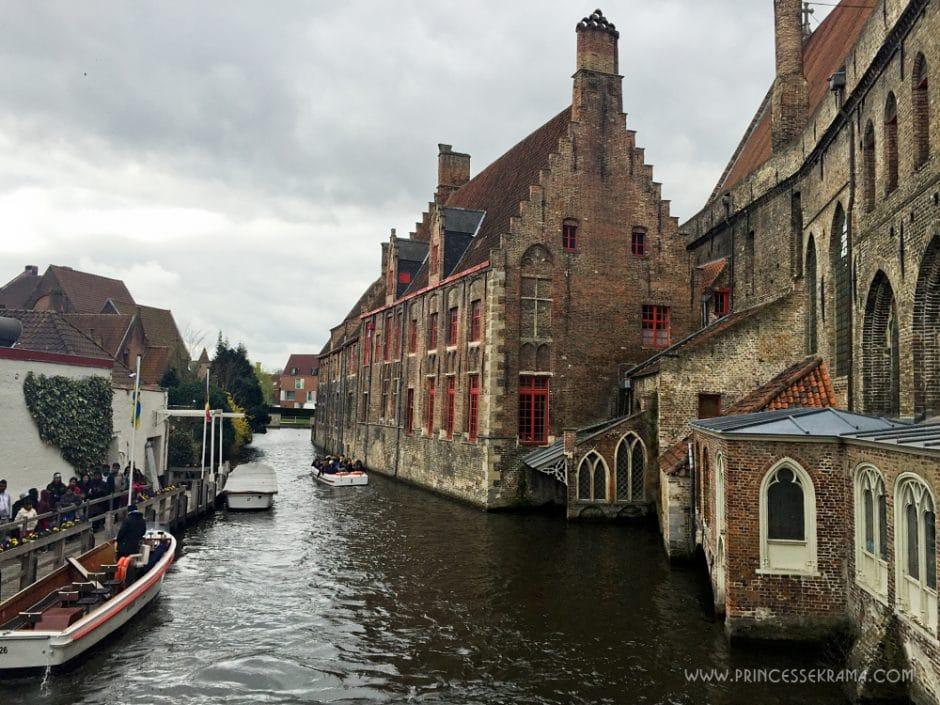 Visiter Bruges pour son Hôpital Saint-Jean