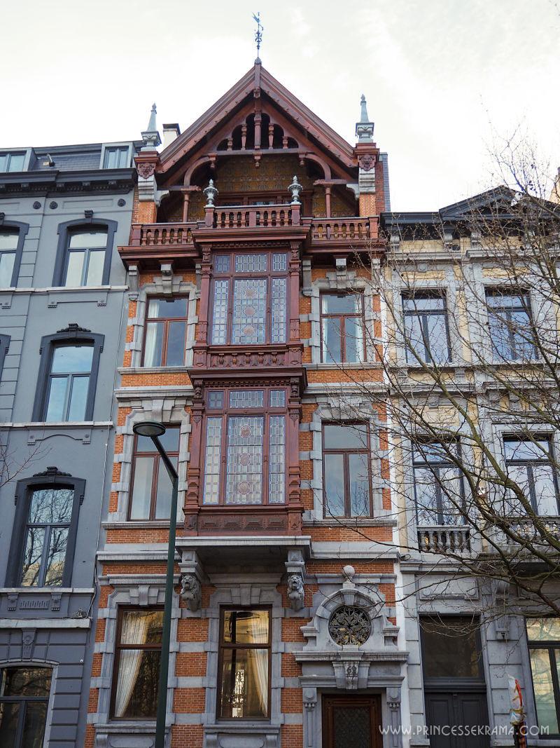 Visiter Bruxelles pour la Maison Jamaer