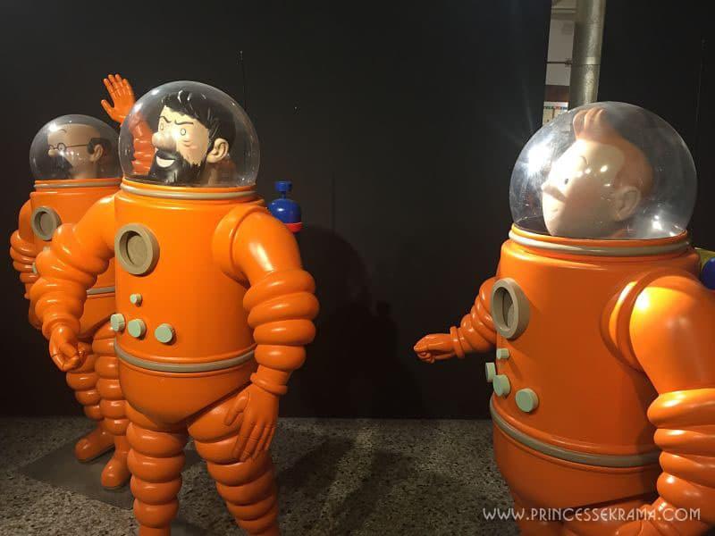 Visiter Bruxelles pour le Musée de la BD