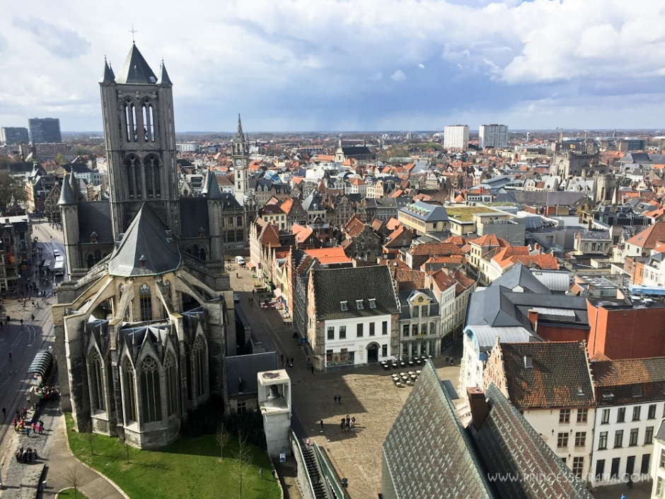 Panorama du Beffroi de Gand