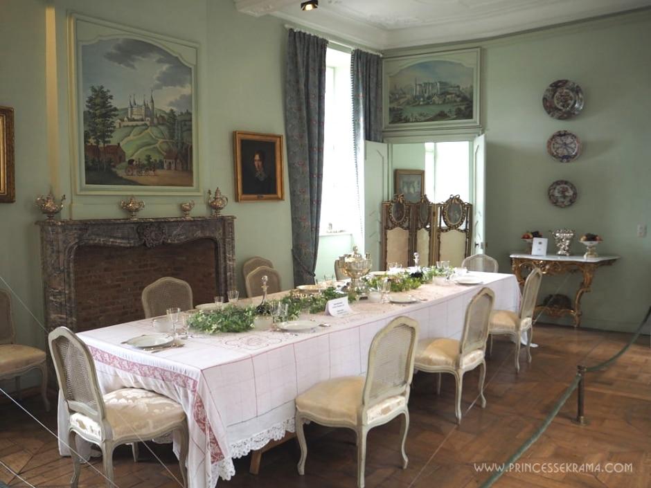 Salle à manger - Chtâteau de Vêves