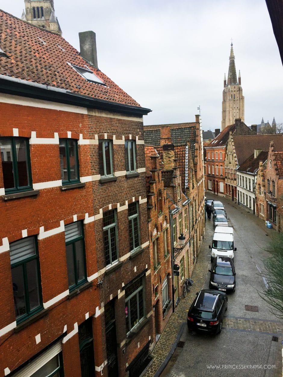 Où dormir à Bruges - Vue de Lybeer