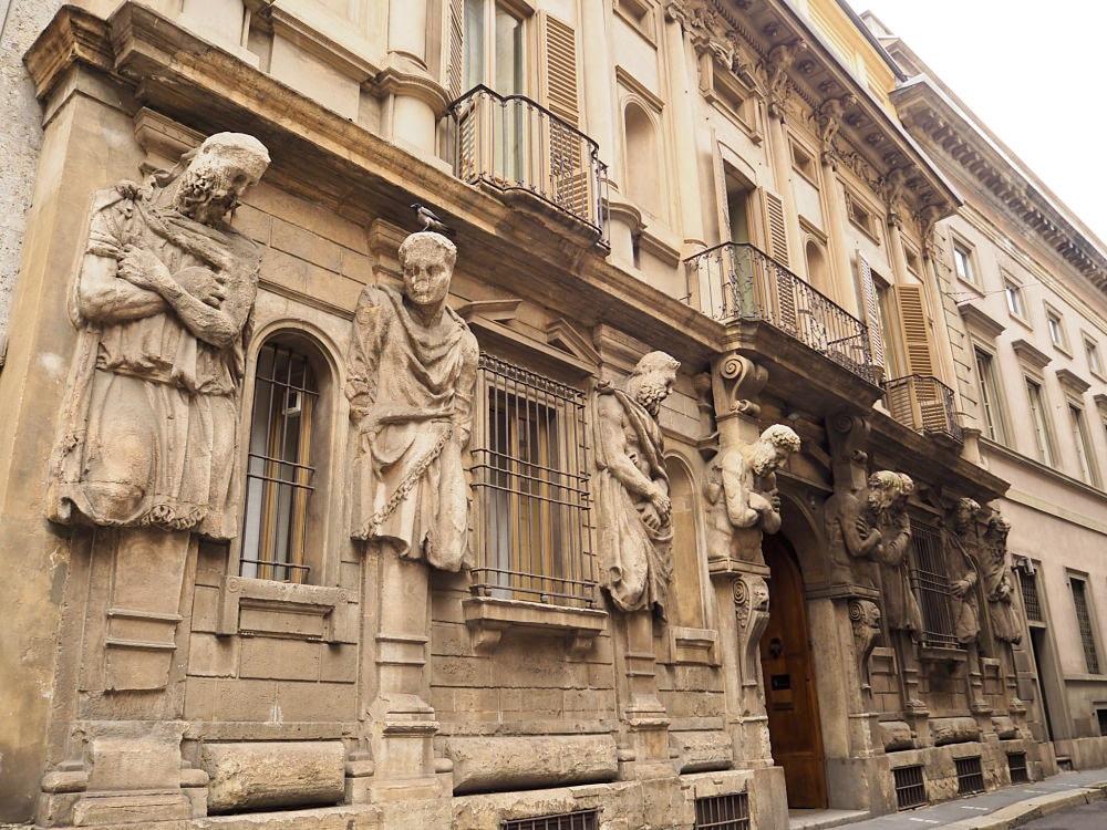 Que faire à Milan ? Voir la Casa Omenoni