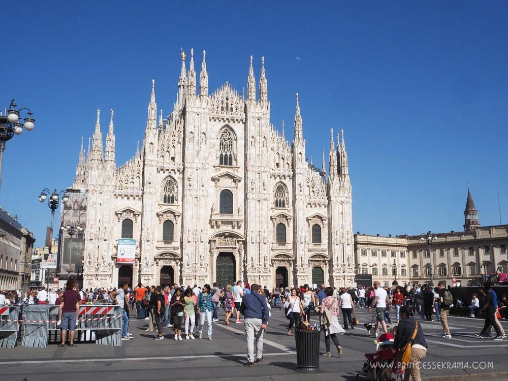 Que faire à Milan - Visiter il Duomo