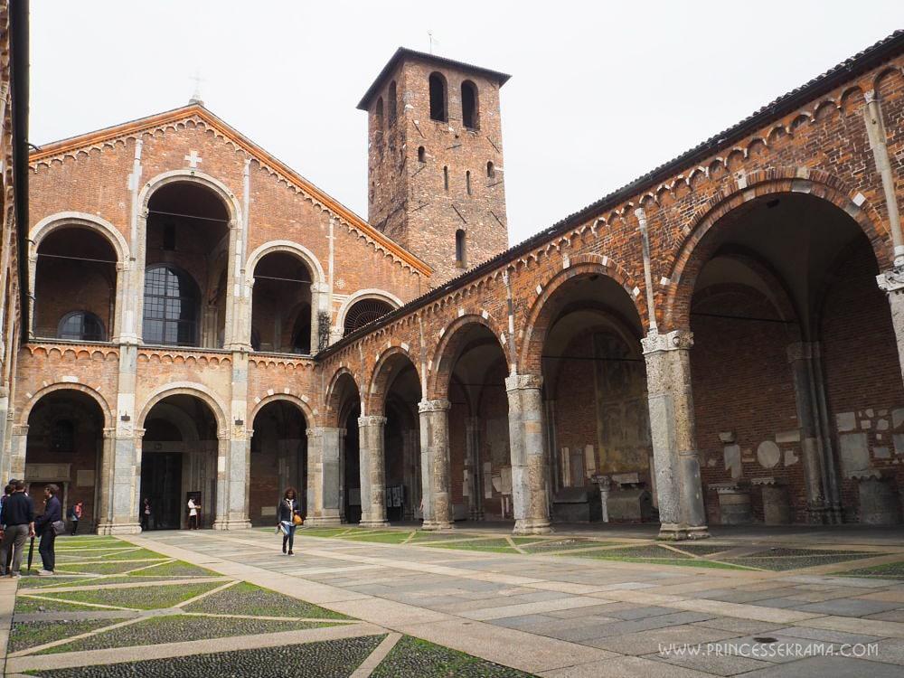 Que faire à Milan ? Visiter Sant Ambrogio