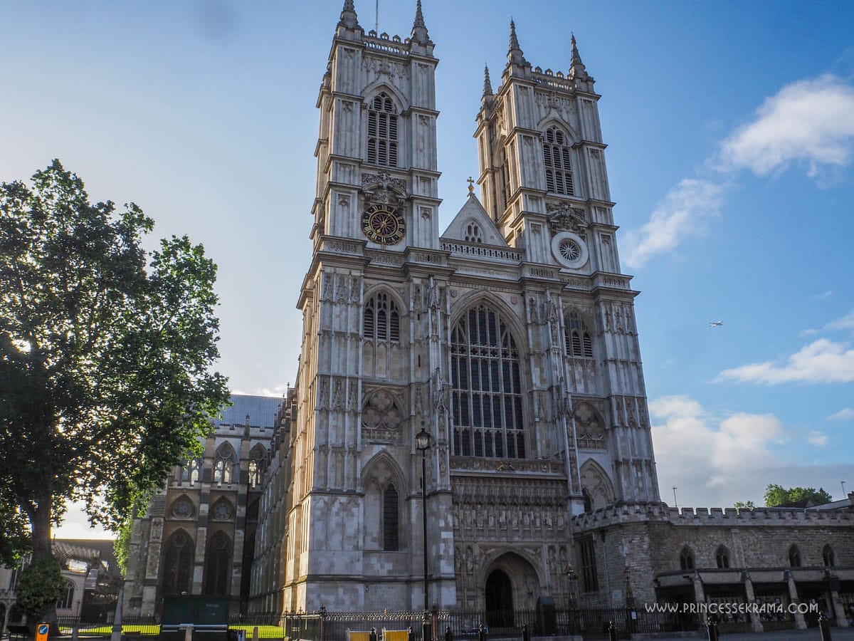 Un week end à Londres pour voir l'Abbaye de Westminster