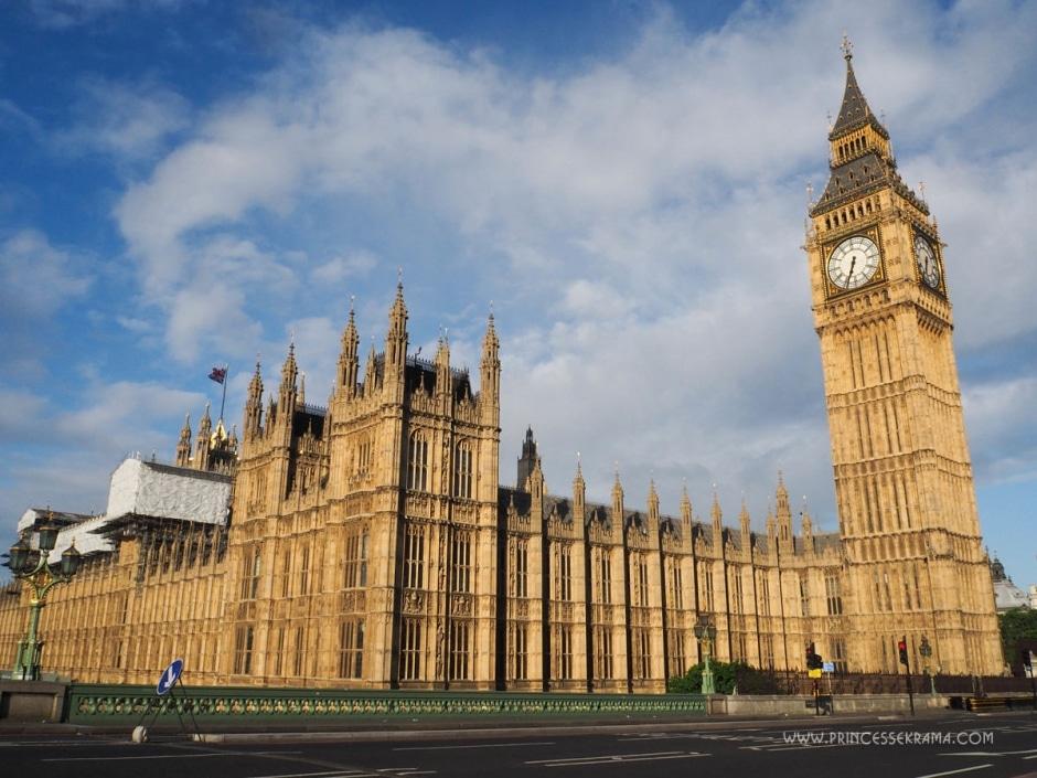Un week end à Londres pour voir Big Ben