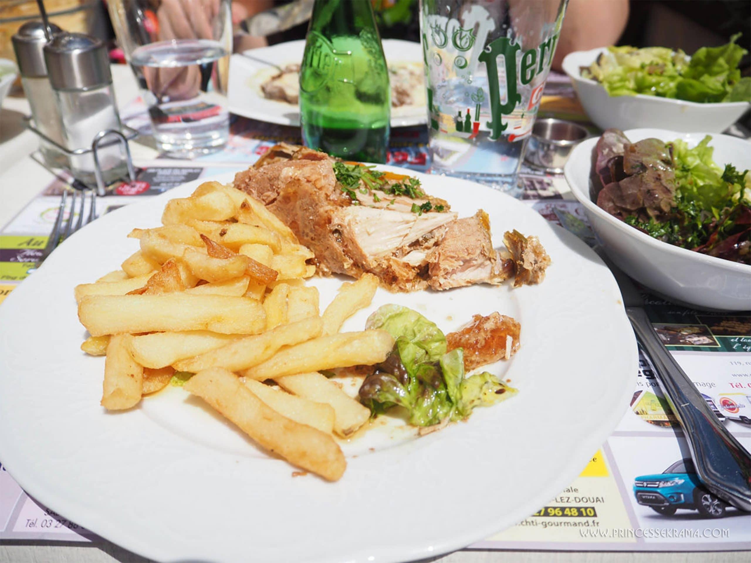 Potjevleesch Au bon vieux temps Douai