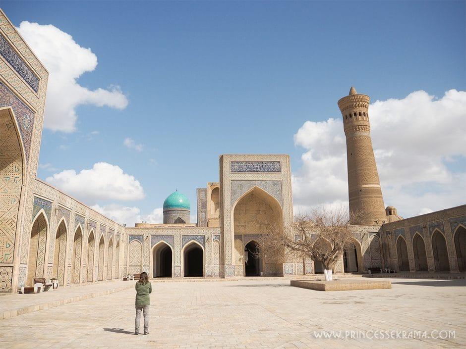 Visiter l'Ouzbékistan, je l'ai fait ! Voici mon itinéraire