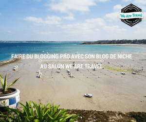 Faire du blogging professionnel avec un blog de niche au salon We Are Travel