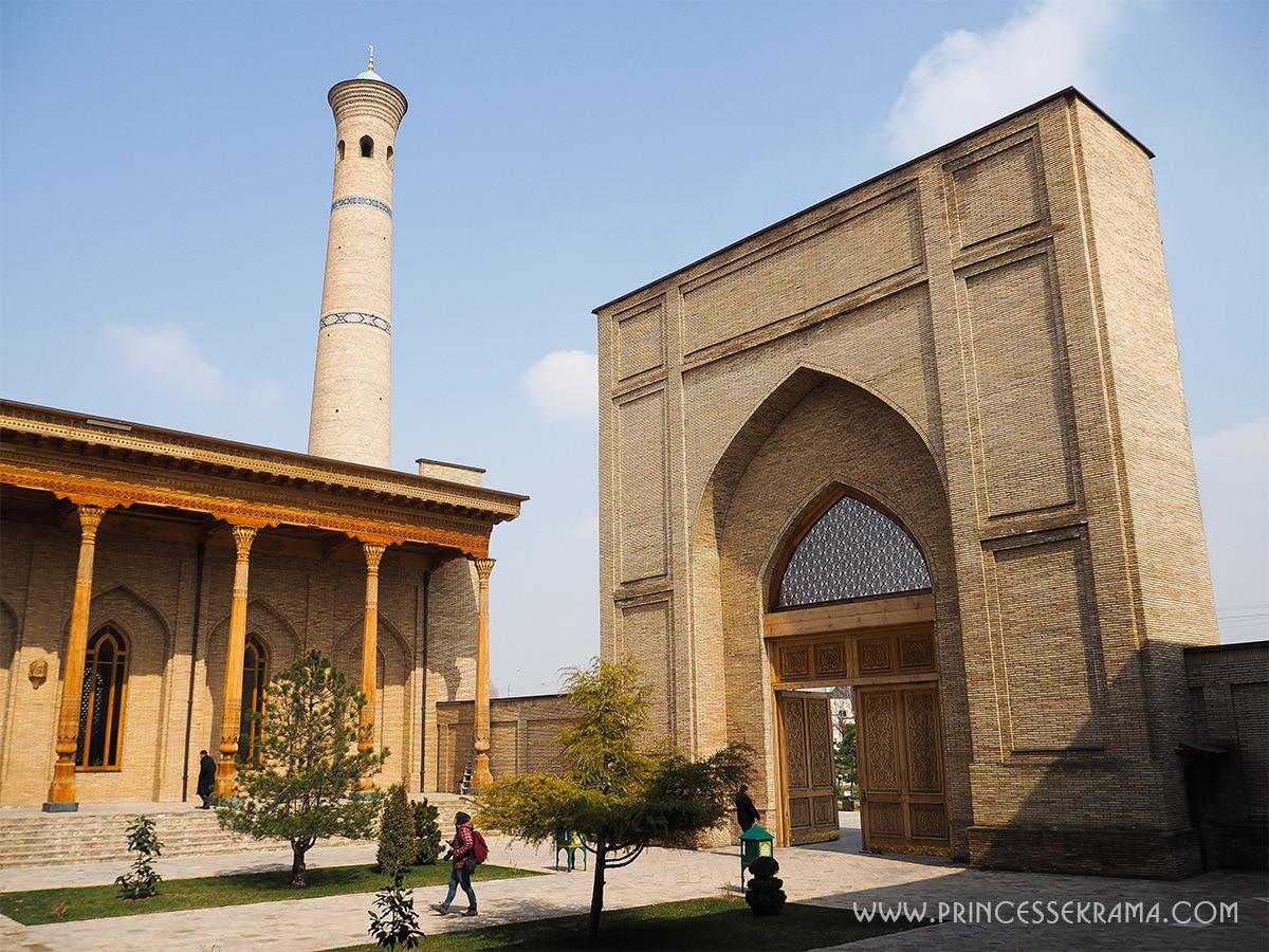Que faire à Tachkent la capitale de l'Ouzbékistan en une journée ?