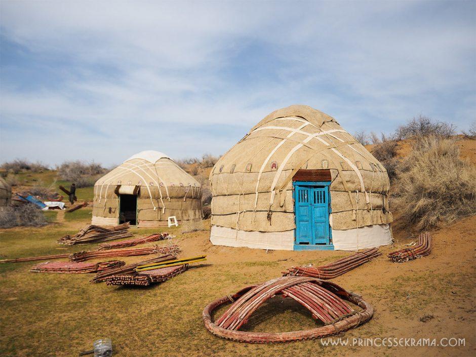 Camel Camp désert du Kyzylkoum