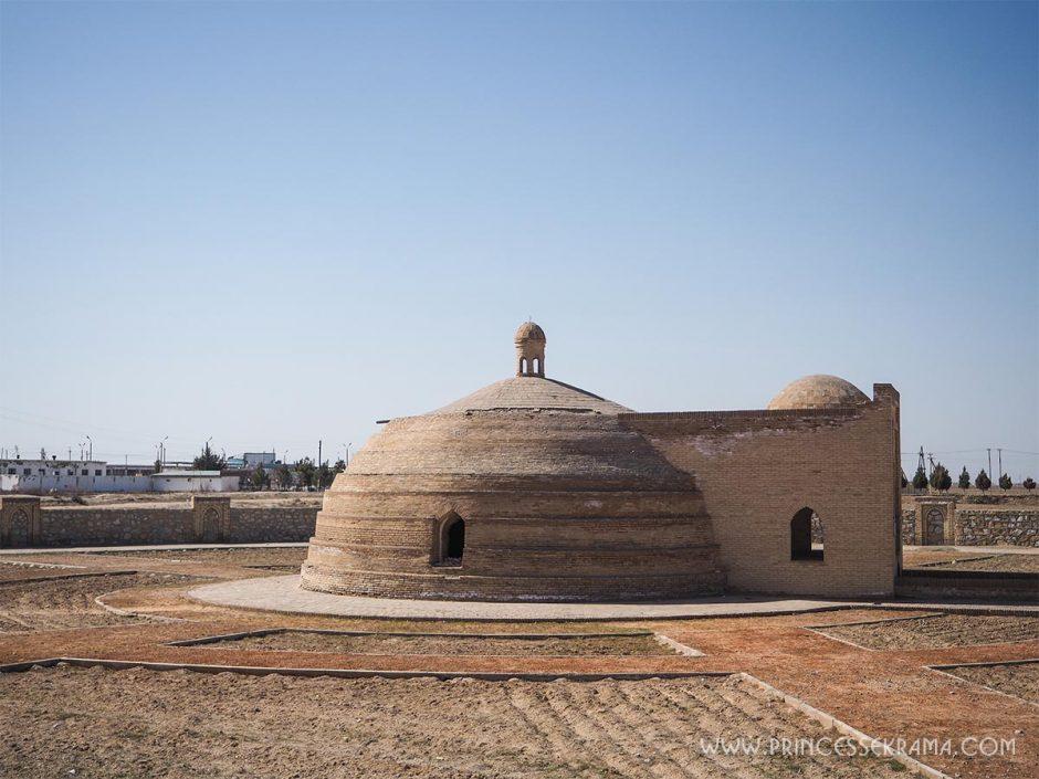 Sardoba en Ouzbékistan