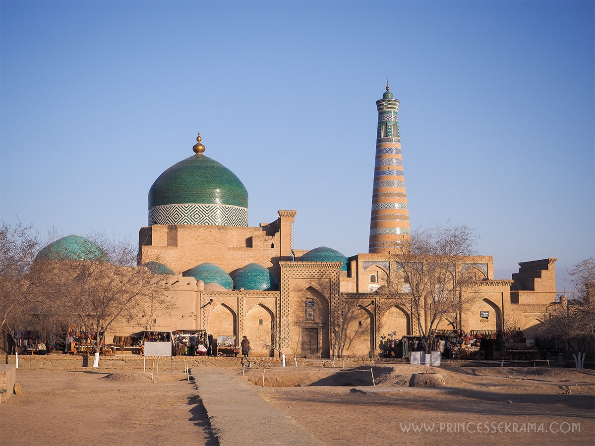 Ma visite de Khiva en deux jours, merveilleuse cité d'Ouzbékistan