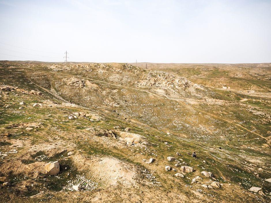 Les ruines de la forteresse d'Alexandre le Grand