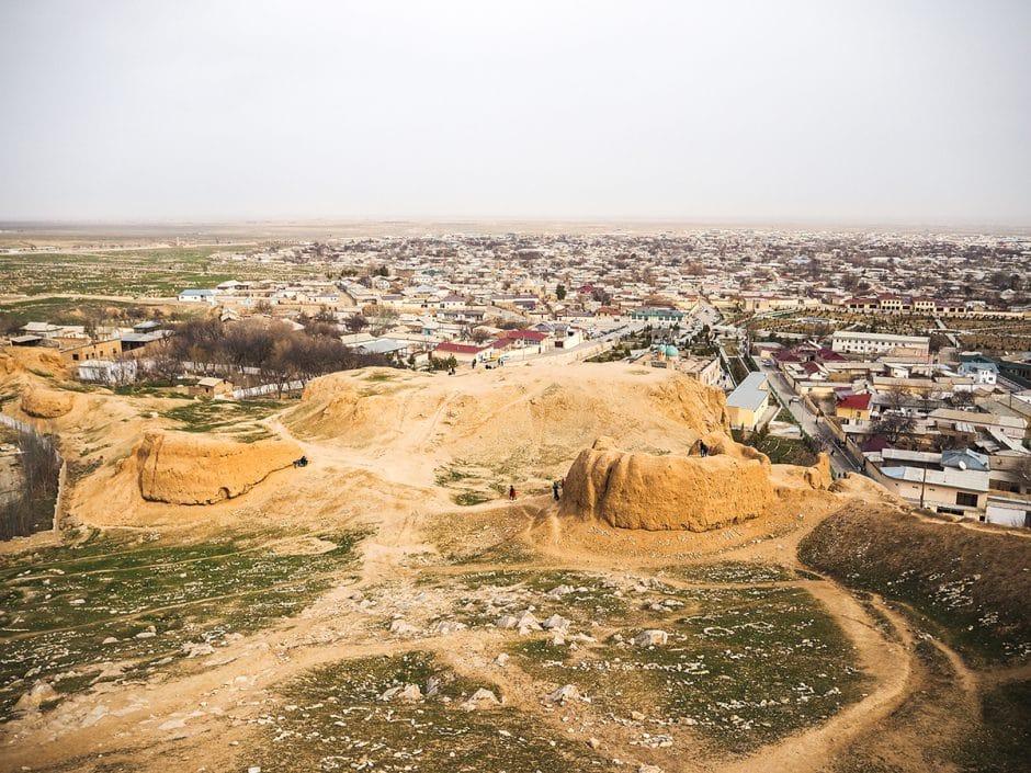 Vue de la ville Nourata