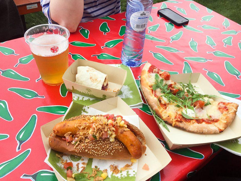 Repas à Tomorrowland 2017