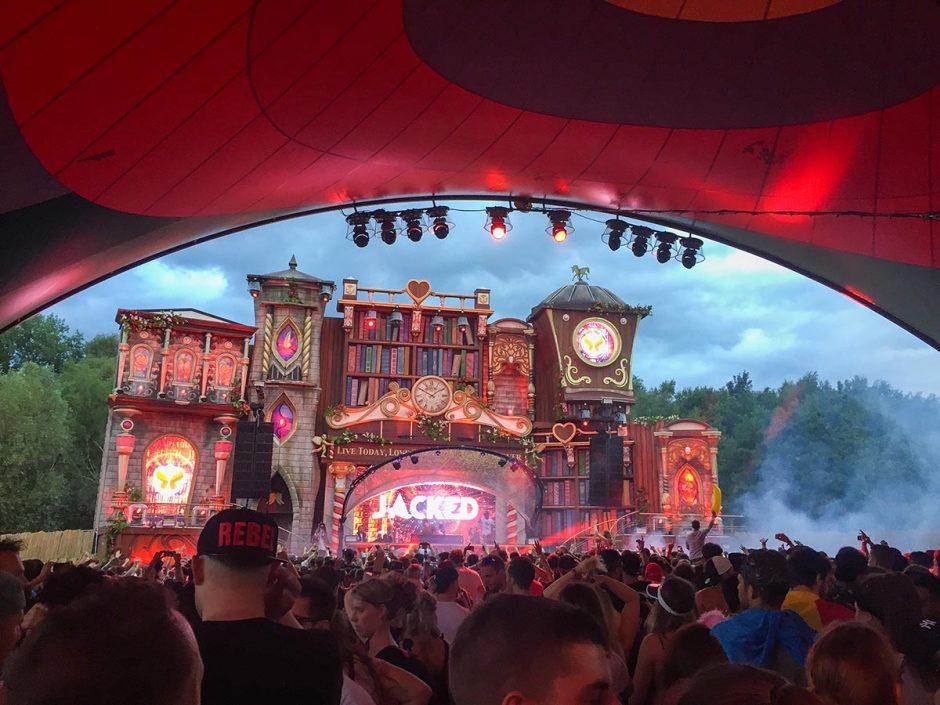Afrojack Tomorrowland 2017