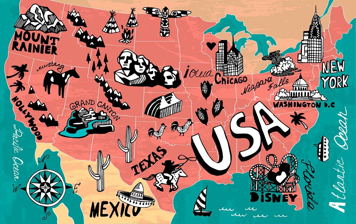 Ma check-list de mon rêve aux Etats-Unis