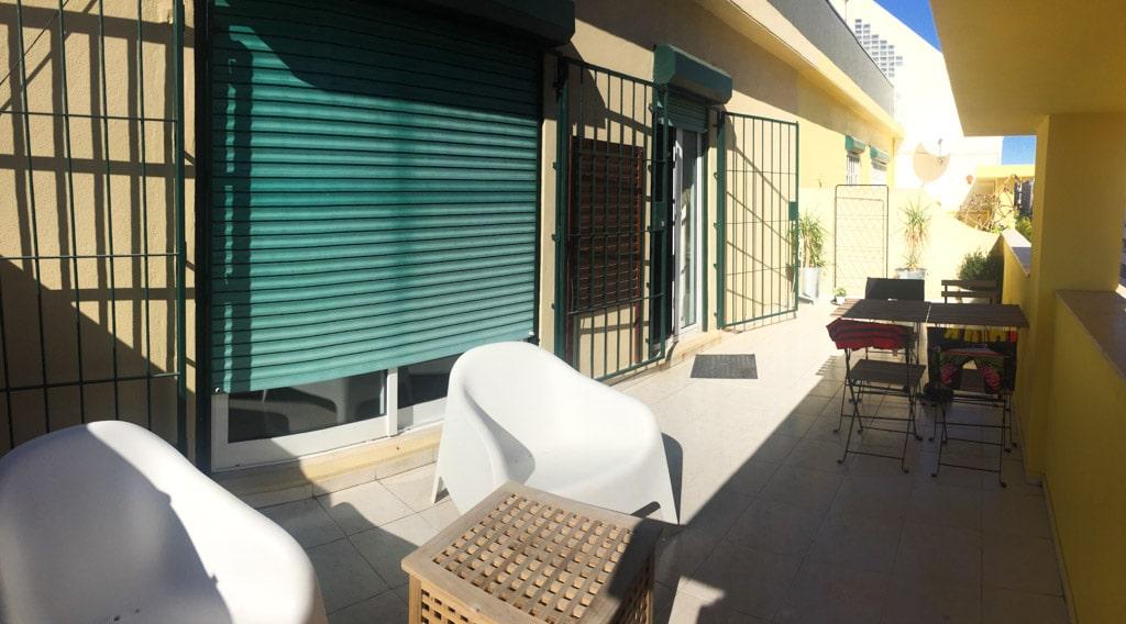Terrasse au Lx Roller Guesthouse de Marquès de Pombal