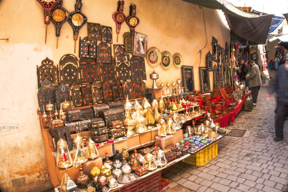Une rue de souk